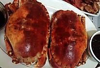 清蒸面包蟹的做法