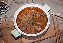 金针菇番茄肥牛锅的做法