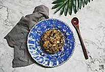 梅菜干酱油蛋炒饭的做法
