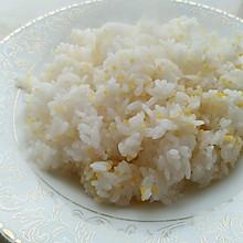 玉米糁米饭