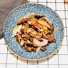 洋葱炒牛排——十分钟快手菜