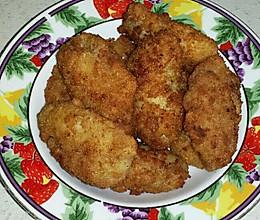 炸面包糠鸡翅的做法