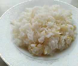 玉米糁米饭的做法