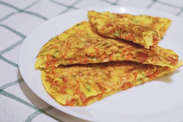 销魂早餐-胡萝卜丝饼的做法