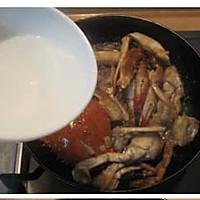 姜葱炒梭子蟹的做法图解9
