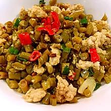 酸豆角炒肉末  #一道超级简单的下饭菜#