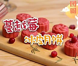 蔓越莓冰皮月饼的做法