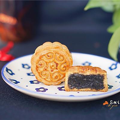 黑芝麻月饼
