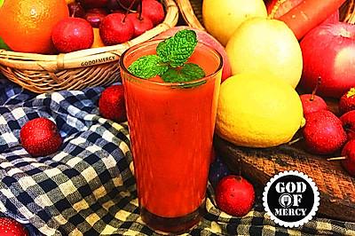 最有效逆生长的秘方=全能美容瘦身抗癌的苹果胡萝卜果汁