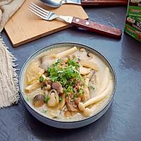 鲜菇杂菌浓汤的做法图解19