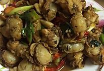 爆炒扇贝肉-简单下酒小菜的做法