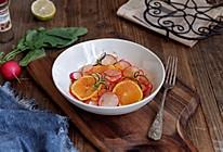 橙香小萝卜沙拉的做法
