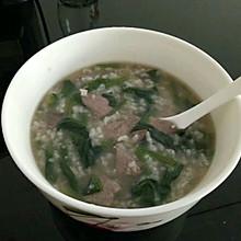 清肝火的菠菜枸杞猪肝粥