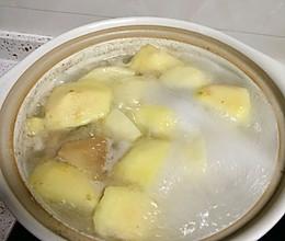 猴头菇苹果骨汤的做法