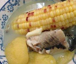 苹果淮山生鱼汤的做法