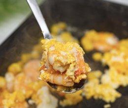 虾仁玉米煎蛋的做法
