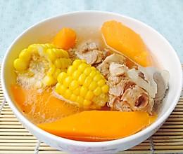 广东靓汤--玉米红萝卜猪骨汤的做法