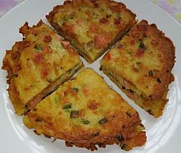 葱香土豆煎饼的做法