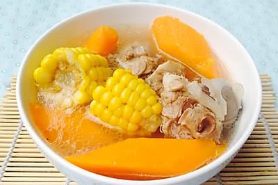 广东靓汤--玉米红萝卜猪骨汤