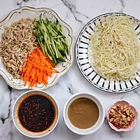 #父亲节,给老爸做道菜# 鸡丝凉面的做法图解6
