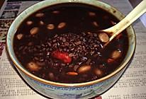 红枣黑米粥的做法