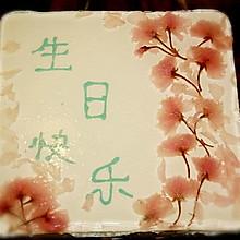 樱花芝士蛋糕
