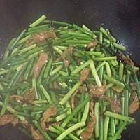 蒜苔肉丝的做法图解7