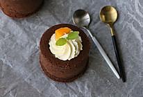 巧克力奶油杯子蛋糕#有颜值的实力派#的做法