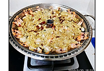 汽锅海鲜(蒜蓉开背虾+扇贝)的做法