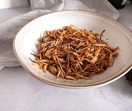 干煸杏鲍菇的做法