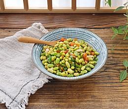 #快手又营养,我家的冬日必备菜品#清炒毛豆的做法