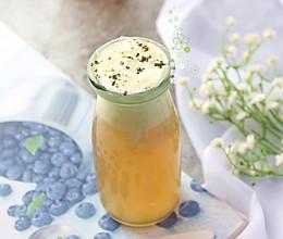 奶盖冬瓜茶的做法