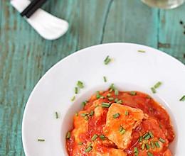 鲜嫩茄汁鸡片的做法