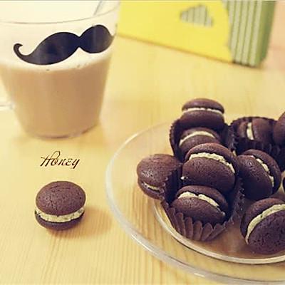 抹茶夹心巧克力小西饼