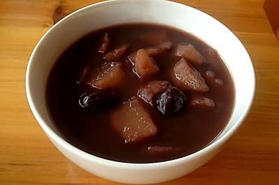 山药红枣红豆粥-经期孕期养生