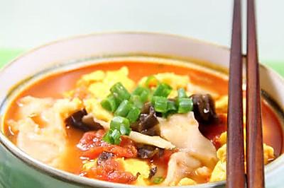 西红柿鸡蛋揪面片