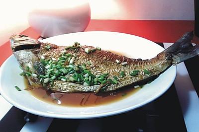家常红烧鳊鱼