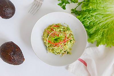 蟹柳牛油果沙拉