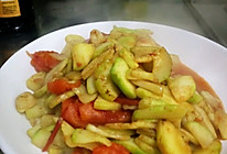 西红柿炒笋瓜的做法