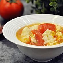 西红柿鸡蛋面疙瘩