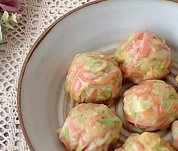 #豆果10周年生日快乐#低脂低卡西葫芦鸡蛋素蒸包的做法