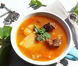 番茄牛肉汤的做法