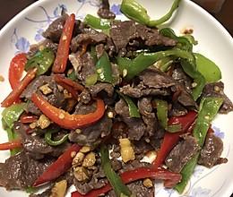 炒牛肉片的做法