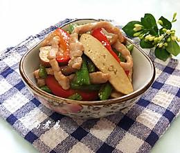 肉丝豆角炒香干的做法