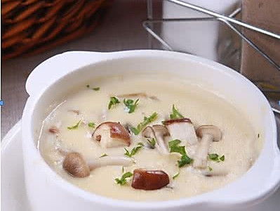 无花果蘑菇汤的做法