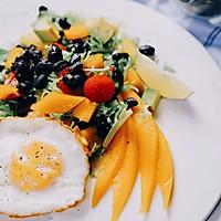 完美黑豆蔬果沙拉