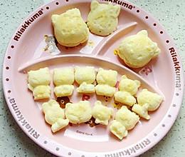西贝妈妈辅食1Y+(婴儿版KT猫奶酪蛋糕)的做法