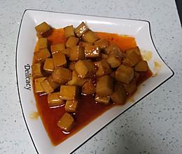 甜辣鱼豆腐的做法