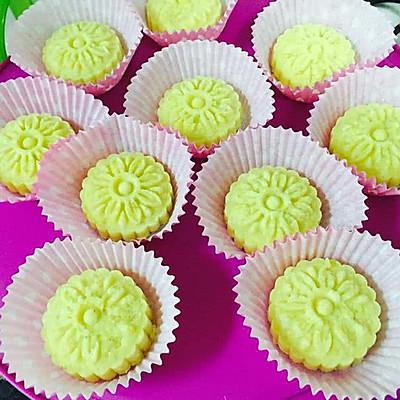 绿豆糕无油配方清甜爽口