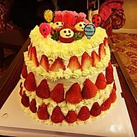 三层生日蛋糕的做法图解12